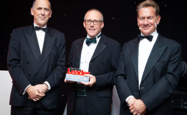 Nick Sturge wins Business Leader of the Year Award