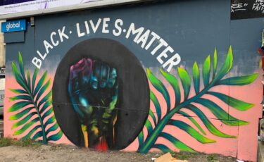 Black Lives Matter Stokes Croft Bristol artwork