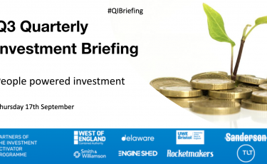 presentation slide for Quarterly Investment Briefing